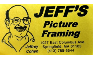 50% off $40 at Jeff's Picture Framing