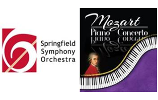 Springfield Symphony Orchestra Mozart Piano Concerto Saturday, January 20, 2018, 7:30 p.m.