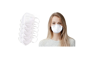 Multilayer KN95 Respirator Safety Face Mask (5-Pack) - $14.99 with FREE Shipping!