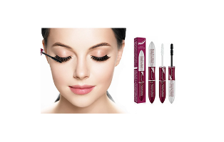 5D Double Effect Stunning Lengthening Mascara (2-Pack) - $19.99 with FREE Shipping!