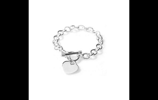 Classic Toggle Clasp Heart Bracelet - $19.99 with FREE Shipping!