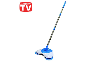 Hurricane Spin Broom - $21.99 with FREE Shipping!