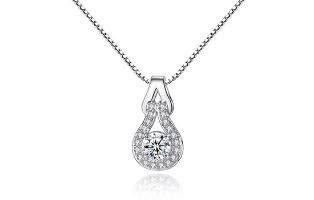 Crystal Pendant Necklace - $30 with FREE Shipping!