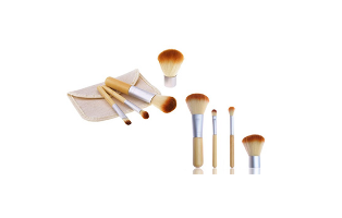 Travel Size 4 Pieces Makeup Brushes - $24 with FREE Shipping!