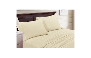 4-Piece Set: Bamboo Blend Bedsheets Size: King - $32.99 with FREE Shipping!