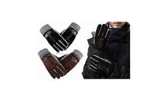 Men's Anti-Skid Windproof Winter Thermal Gloves - $14.99 with FREE Shipping!