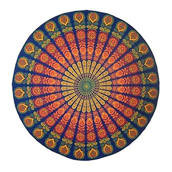 Round Chiffon Aztec Print Beach Throw - $12.99 With FREE Shipping